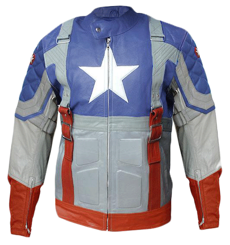 Chris Evan The First Avenger Captain America Leather Jacket