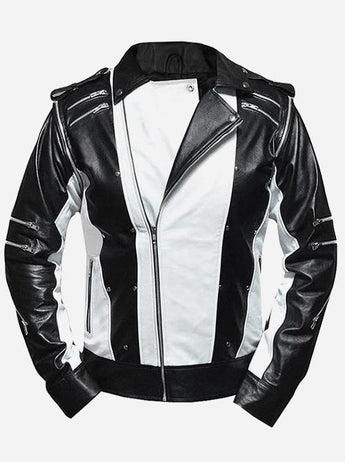 Michael Jackson Pepsi Leather Biker Jacket