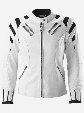 Winter Fashion Leather Biker Jacket for Men