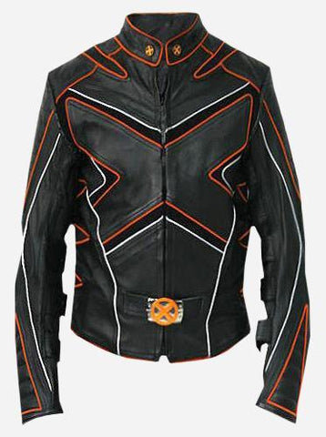 Women X-Men Wolverine Leather Jacket