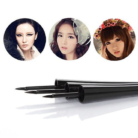 Cute Waterproof Liquid Eyeliner - Black