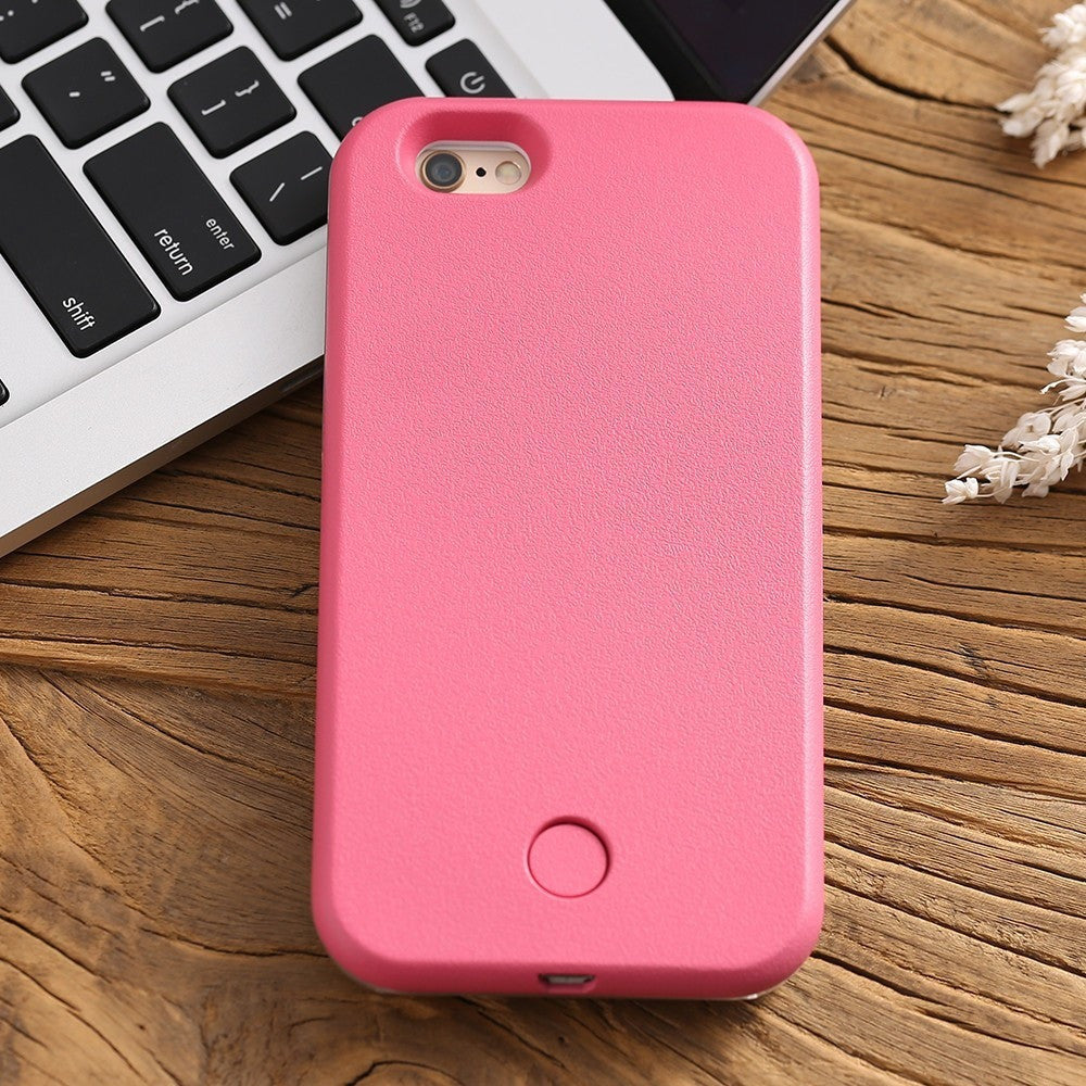 LED Selfie Smartphone Case