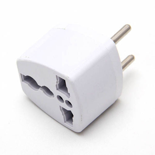 20 X Round pin US AU UK  to EU INDIAN Power Socket Plug Adapter Travel Converter