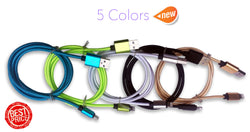 iPhone USB Cable, 3feet / 1meter Nylon Braided Lightning Cable for iPhone 6/6s,iPhone 6/6 Plus,iPhone 5/5s,iOS Devices