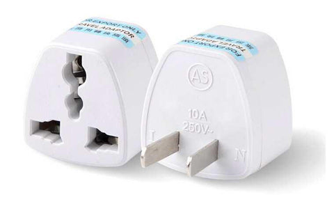 Universal European UK/US/EU Power Plug Adapter Travel Charger Converter