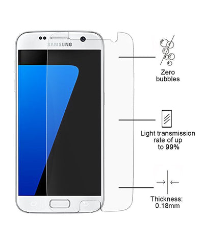 Samsung S7 Screen Protector Tempered Glass, Galaxy S7