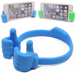 Universal Lazy Man The thumb OK Stand Holder Clip Mount For Ipad Tablet IPhone 5 6 6 Plus Samsung S4 S5 Note 3 4