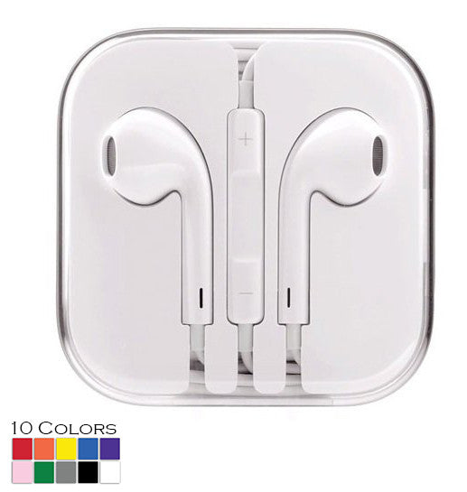 Earpods Earphones for Samsung & iPhone 6 5 4S w/Remote & Mic