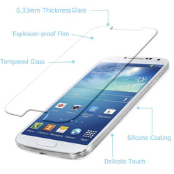 Samsung S4 Screen Protector Tempered Glass, Galaxy S4