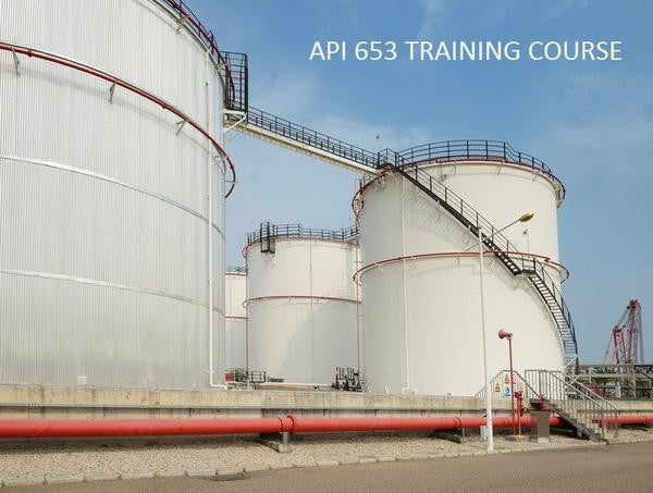 API 653 TRAINING COURSE