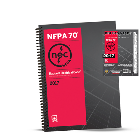 2017 NATIONAL ELECTRICAL CODE (NEC) SPIRALBOUND TABS COMBO NFPA