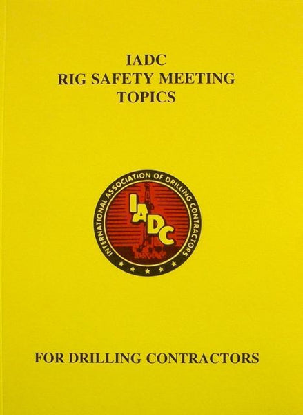 RIG SAFETY MEETING TOPICS