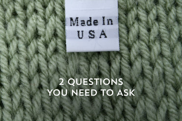 The 2 questions you need to ask when determining if your Made In The USA is also made ethically!