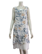 Load image into Gallery viewer, OZAYA Tank Top Dress with Floral Print (DDA-12098)