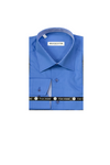 Men's Solid Shirt Made in Turkey Blue Series