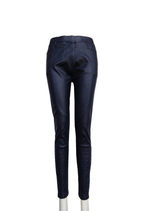 Ladies' Faux Leather Pants