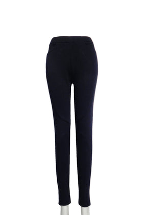 Solid color legging with pockets