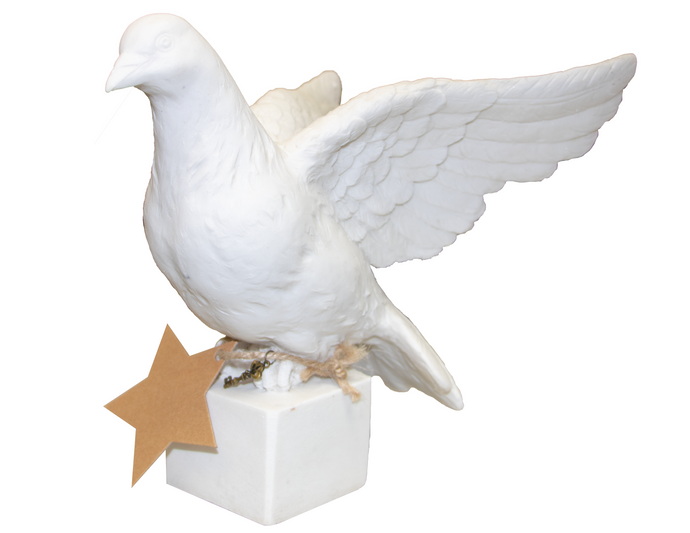 The Victory Dove Made of Marble (M-2802)