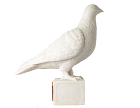 The Peace Dove Made of Marble (M-2803)