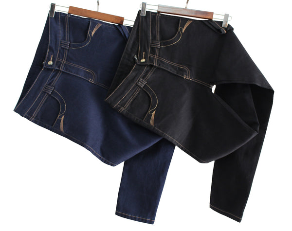 Women's five pocket denim pants
