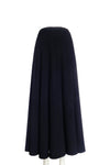 High-waisted skirt with pleats
