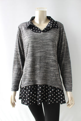 Ladies' fooler top