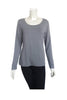 Women's basic long sleeve top