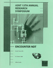 2004 ASNT 13th Annual Research Symposium Abstracts