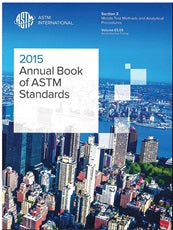 Annual Book of ASTM Standards Section 3, 03.03: Nondestructive Testing