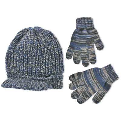 ABG Accessories Radar Cap and Matching Gloves Cold Weather Set - Big Boys 7-14 - The Accessories Outlet