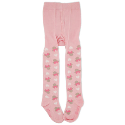Disney Minnie Mouse Tights, Light Pink, Baby Girls, Ages 0-24M - The Accessories Outlet