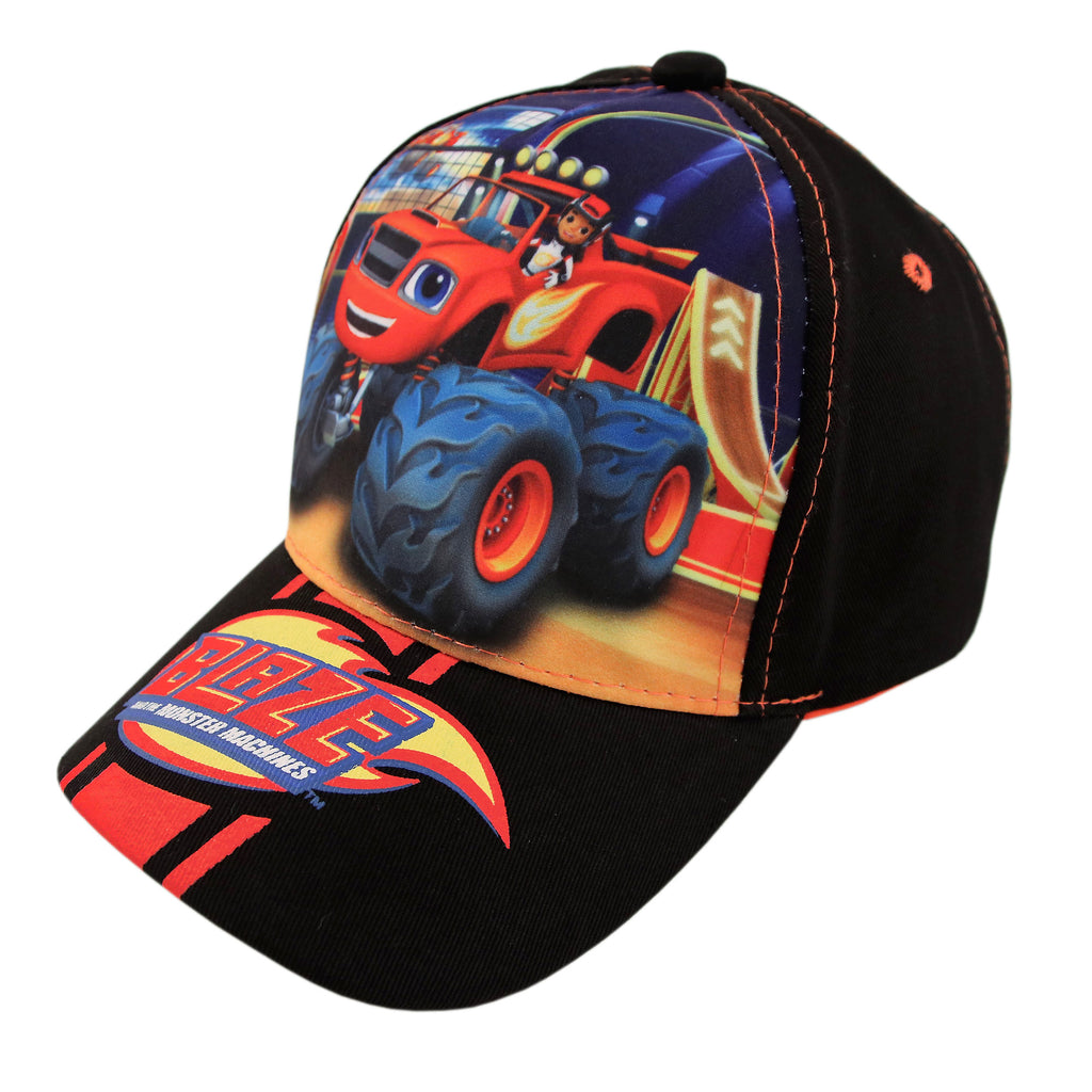 Nickelodeon Blaze and the Monster Machines Cotton Baseball Cap, Toddler Boys, Age 2-4 - The Accessories Outlet