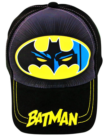 DC Comics Batman Baseball Cap, Toddler Boys, Age 2-4 - The Accessories Outlet