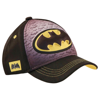 DC Comics Batman 3D Pop Baseball Cap, Little Boys Age 4-7 - The Accessories Outlet
