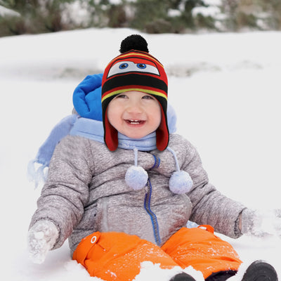 Disney Cars Hat and 2 Pair Mittens or Gloves Cold Weather Set, Little Boys, Age 2-7 - The Accessories Outlet