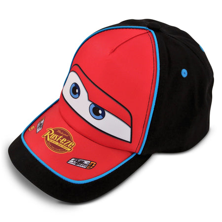 Disney Cars Lightning McQueen Cotton Baseball Cap, Little Boys, Age 4-7 - The Accessories Outlet