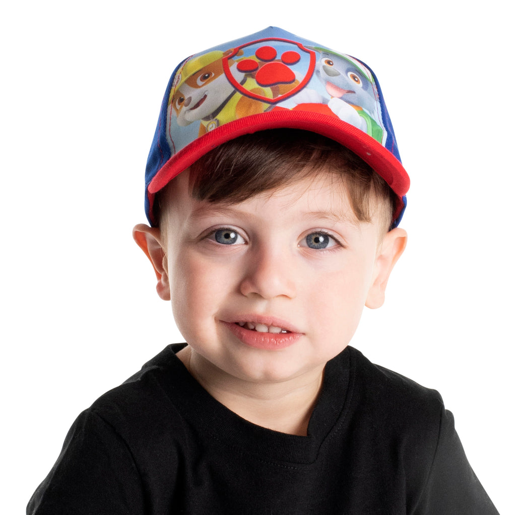 Nickelodeon Paw Patrol Character Cotton Baseball Cap, Toddler Boys, Age 2-4