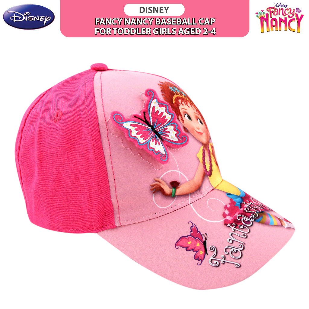 Disney Fancy Nancy Baseball Cap, Toddler Girls, Age 2-4 - The Accessories Outlet