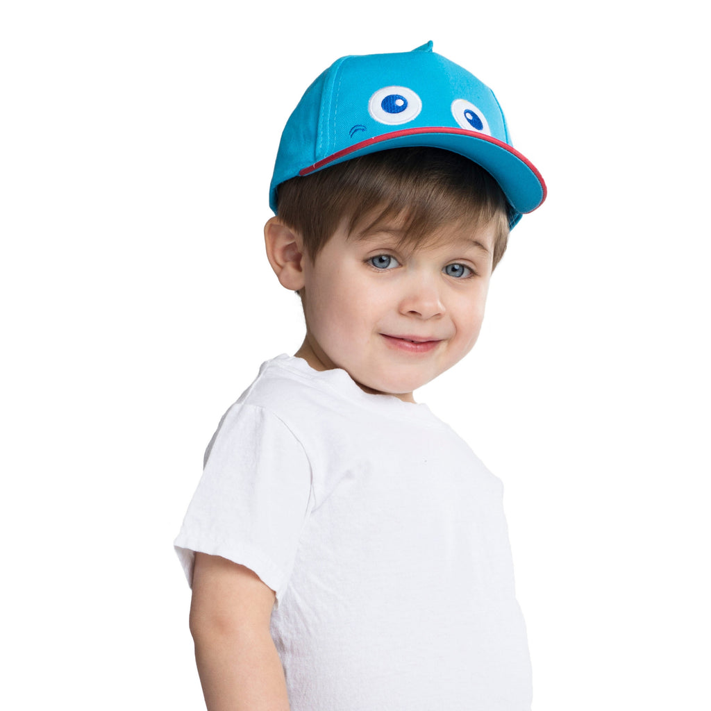 ABG Accessories Shark Critter Design Cotton Baseball Cap, Toddler Boys, Age 2-4 - The Accessories Outlet