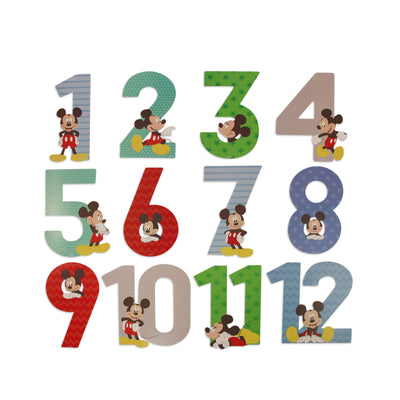 Disney Mickey Mouse Milestone Photo Prop Numbers Gift Set, Baby Boys, Age 0-12M - The Accessories Outlet