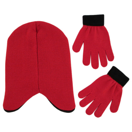 Disney The Incredibles 2 Hat and Gloves Cold Weather Set, Little Boys, Age 4-7 - The Accessories Outlet