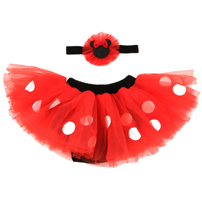 Disney Minnie Mouse Dress Up Headband and Tutu Set, Baby Girls, Age 0-12M - The Accessories Outlet