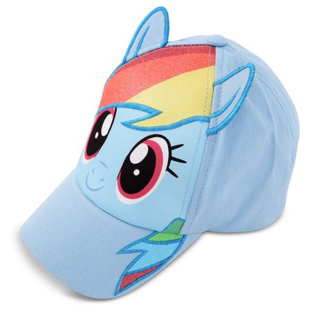 Hasbro Little Girls My Little Pony Character Cotton Baseball Cap, Ages 4-7 - The Accessories Outlet