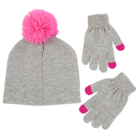 Hasbro My Little Pony Hat and Gloves Cold Weather Set, Little Girls, Age 4-7 - The Accessories Outlet