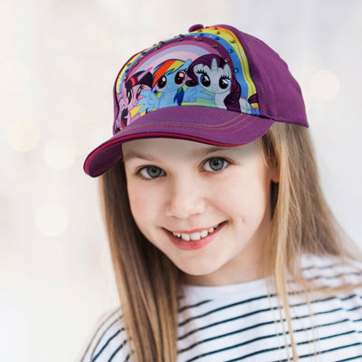 Hasbro My Little Pony Character Cotton Baseball Cap, Little Girls, Age 4-7 - The Accessories Outlet