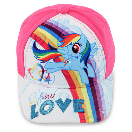 Hasbro My Little Pony Cotton Baseball Cap, Little Girls, Age 4-7 - The Accessories Outlet