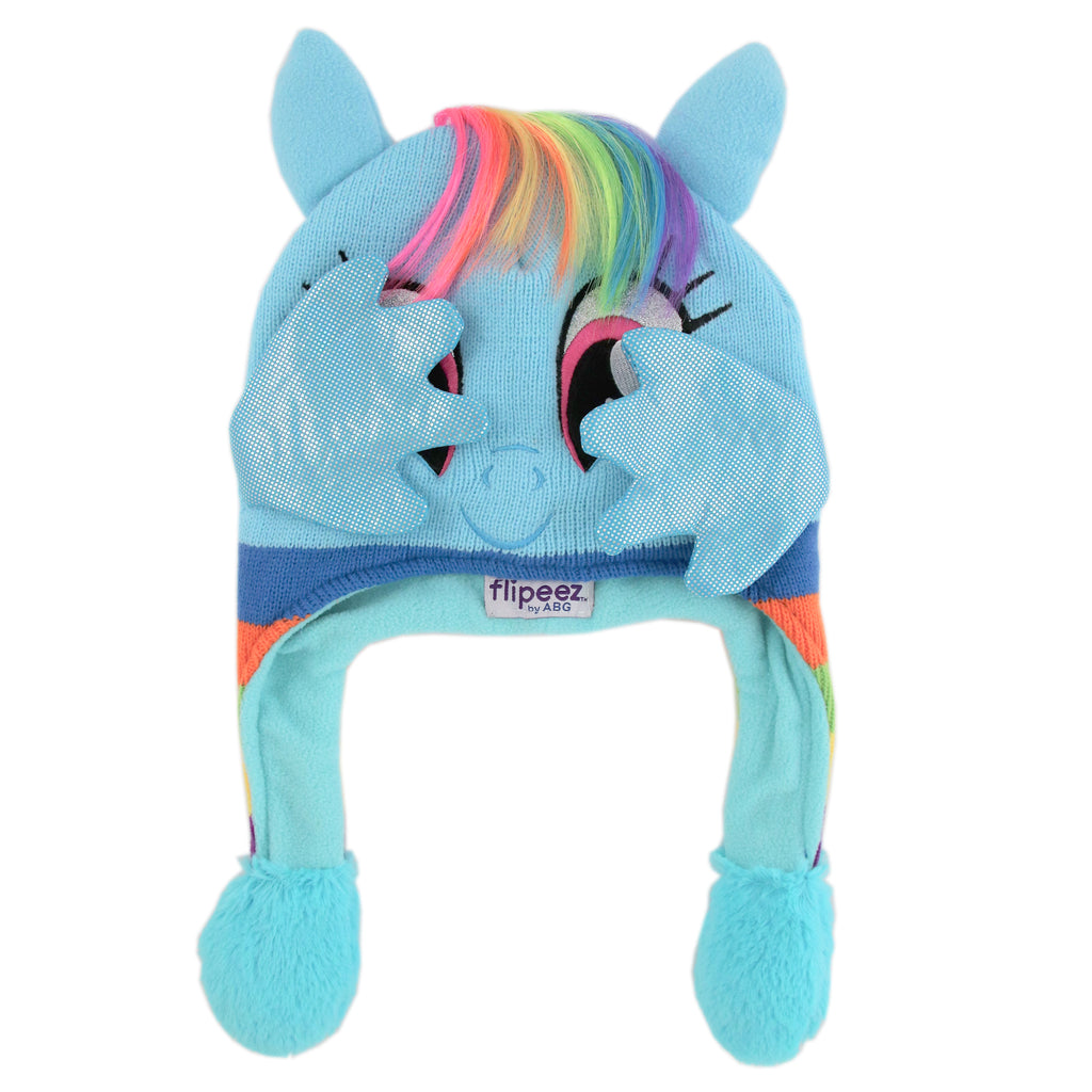 Hasbro My Little Pony Squeeze and Flap Fun Cold Weather Hat, Little Girls, Age 4-7 - The Accessories Outlet