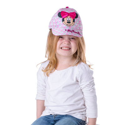 Disney Minnie Mouse Bowtique Baseball Cap, Toddler Girls, Age 2-4 - Accessory Place