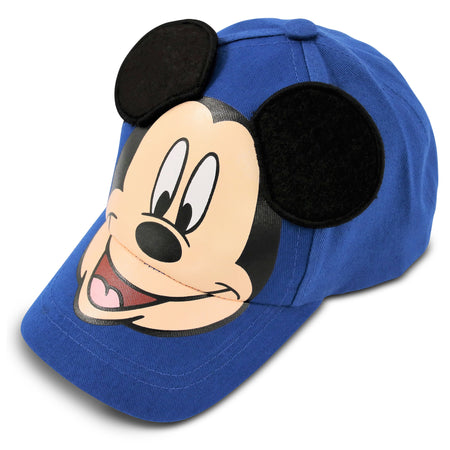 Disney Mickey Mouse Cotton Baseball Cap, Little Boys, Age 4-7 - Accessory Place
