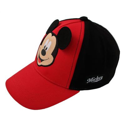 Disney Toddler Boys Mickey Mouse Character Baseball Cap, Age 2-4 - Accessory Place